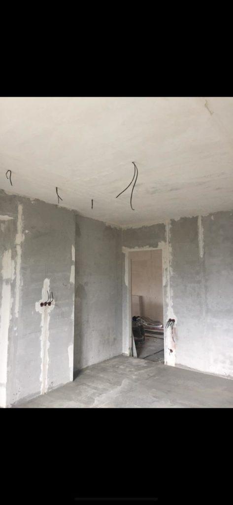 механизированная штукатурка потолков